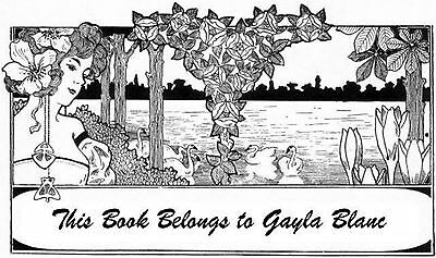 30 Personalized Ex Libris Bookplates Great Little Gift Free First Class Shipping
