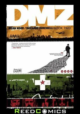 DMZ BOOK 2 GRAPHIC NOVEL New Paperback Collects Issues #13-28 by Brian Wood