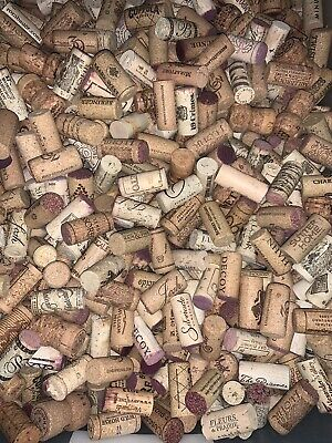 100 Used Synthetic Wine Corks  ( Crafts Christmas Decoration BYOB XMAS )