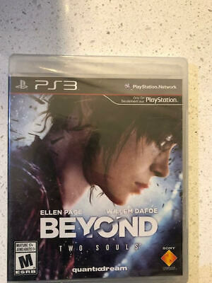 Beyond: Two Souls (Sony PlayStation 3, 2013) Free Shipping Uncharted Heavy rain
