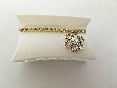 """Shining Bee One 3"""" Hair Clip with Rhinestone Accents"""