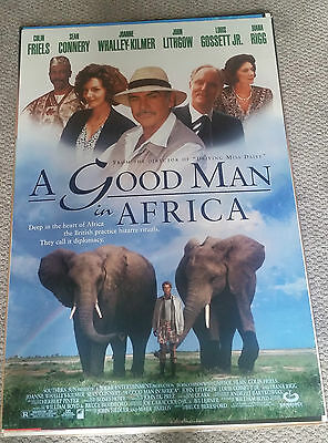 A Good Man In Africa (1994) Original Movie Poster 27x40 Sean Connery
