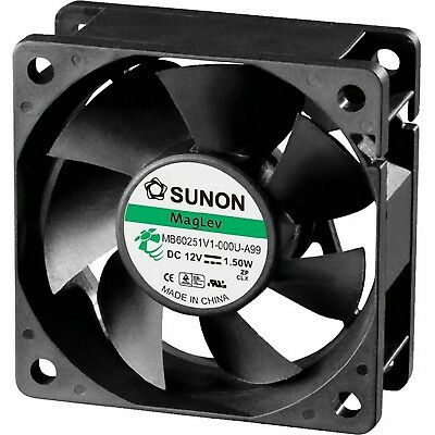 12V Dc 60Mm Dust Resistant Maglev Vapo Fan Sunon