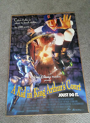 A Kid In King Arthurs Court (1995) Original One Sheet Movie Poster 27x40 DS