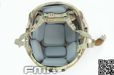 Internal Protective Cushion Pad + Hook Stick Set for FMA CP Airframe MICH Helmet