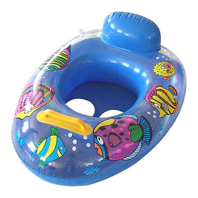 Baby Swimming Seat Ring Inflatable Aid Trainer Float Child Safety Random Color