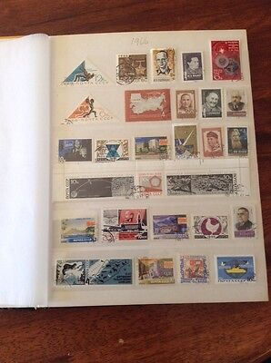 RUSSIAN STAMPS  - 1966 Complete Year Stamps C.T.O