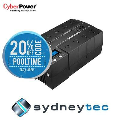 New CyberPower BRIC-LCD 1000VA/600W (10A) Line Interactive UPS - (BR1000ELCD)-2