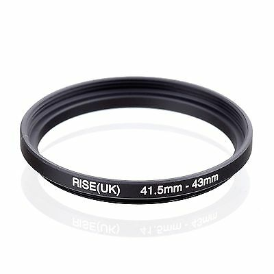 RISE(UK) 41.5-43mm 41.5-43 Step-Up Metal Lens Adapter Filter Ring Camera Adapter