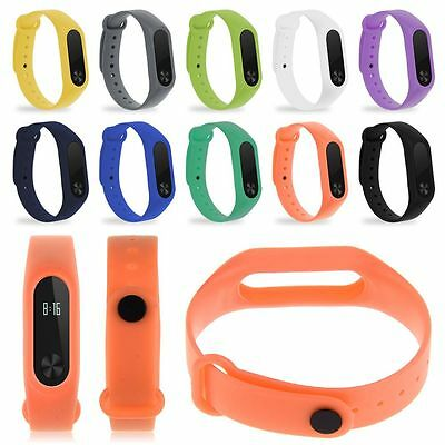 Replacemet Wrist Band W/ Metal Buckle Replacement For Xiaomi Mi Band 2 Bracelet