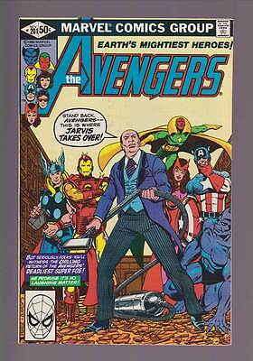 Avengers # 201  This is Where Jarvis Takes Over !  grade 9.0 scarce book !