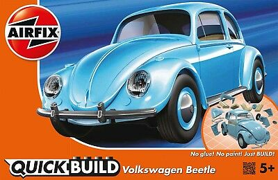 Airfix Quick Build Volkswagen Beetle Snap Together Kit  AF-J6015