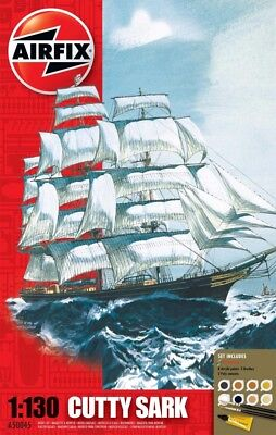 Airfix 1:130 Cutty Sark Plastic Model Kit  AF-50045