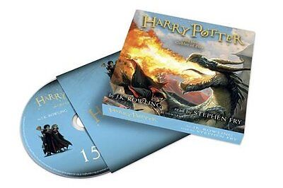 Harry Potter and the Goblet of Fire Audiobook Read by Stephen Fry (2016)