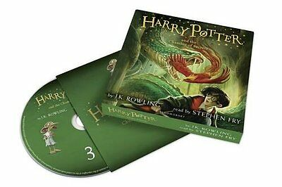 Harry Potter and the Chamber of Secrets Audiobook Read by Stephen Fry (2016)