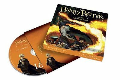 Harry Potter and the Half-Blood Prince Audiobook Read by Stephen Fry (2016)