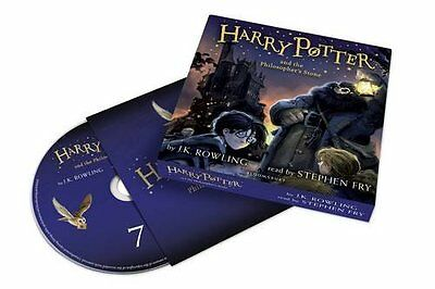 Harry Potter and the Philosopher's Stone Audiobook Read by Stephen Fry (2016)