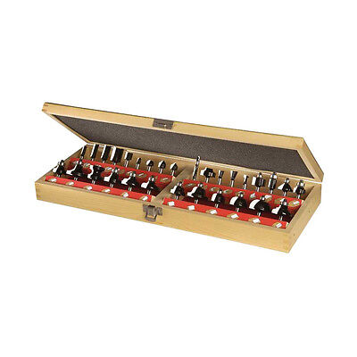 30 Pieces Carbide Router Bit Set Includes Several Edge Forming Straight Surface