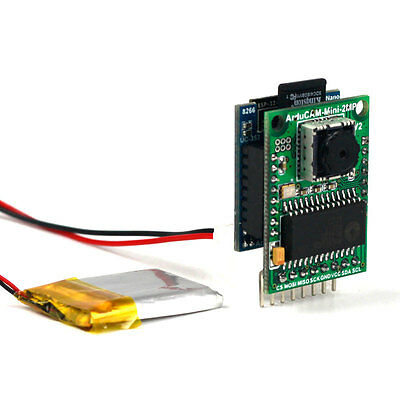Arducam 2MP V2 Mini Camera Shield with ESP8266 Nano Esp-12F Evaluation Kits