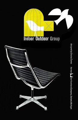 Mid Century 1950's  Herman Miller Eames Chair Advertisement A3 Poster Re Print