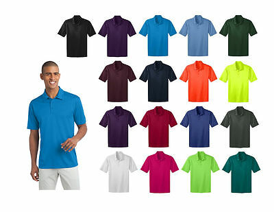 Port Authority polyester Dri-Fit silk touch Polo Shirt S-4XL GOLf