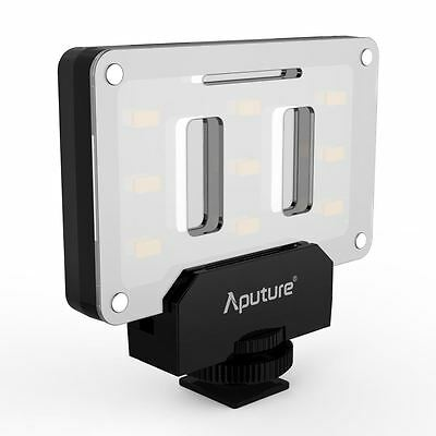 Aputure AL-M9 Dimmable Mini LED Light for Video Filming & Macro Photography