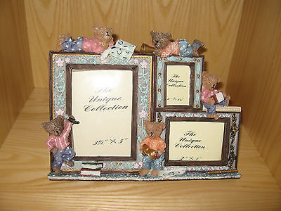 Teddy-3 Picture Frames in 1