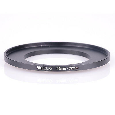 RISE(UK) 49-72 MM 49 MM- 72 MM 49 to 72 Step Up Ring Filter Adapter