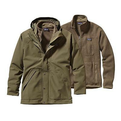 Patagonia Men's Better Sweater 3-in-1 Parka Jacket - Fatigue Green