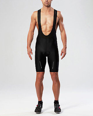 NEW 2XU Aero Bib Shorts Mens Base Layers