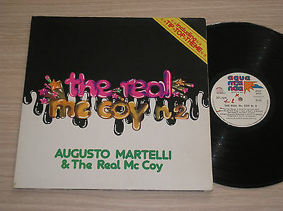AUGUSTO MARTELLI - THE REAL Mc COY N.2 - LP 33 GIRI ITALY