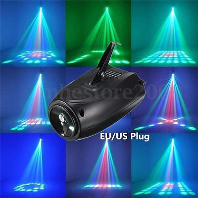64 RGBW 10W LED Stage Light Effect Laser Projector Party Disco Club Bar DJ Lamp