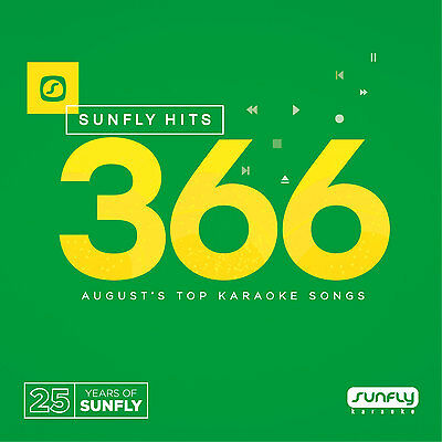 Sunfly Karaoke Hits Vol.366 August 2016 (SF366) CDG/CD+G