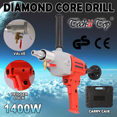 New 1400W Diamond Core Drill Hand-Held Concrete Machine Electric Wet Drilling AU