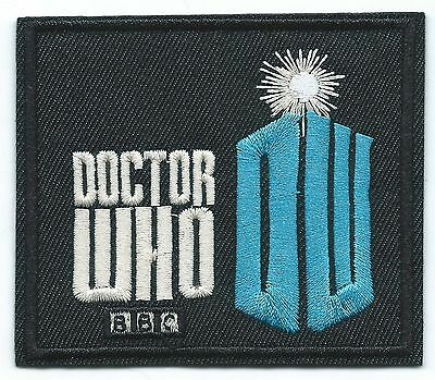 Doctor Who Embroidered Patch Iron-on Good Luck Charm Logo BBC