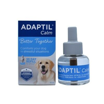 30 Days Adaptil Diffuser Refill Dog Appeasing Pheromone Stress Reducing 48ml