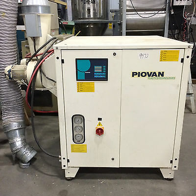 880 CFM *PIOVAN* Mould Dryer / Dehumidifier ~ Model RPA1500
