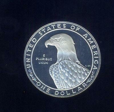 Proof 1983-S Olympic Silver $ With Olympic Games Holder, Free USA Shipping