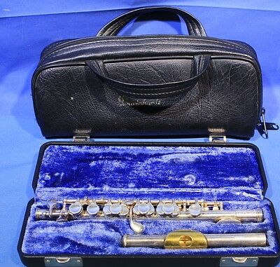 Gemeinhardt KG Special Solid Silver Piccolo With Case and Bag