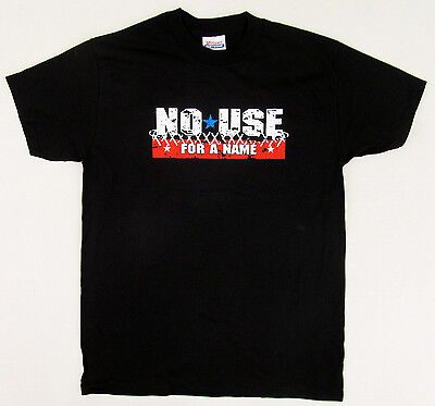 NO USE FOR A NAME T-shirt NUFAN COMBAT Punk Rock Tee Kids Youth LARGE 14-16 New
