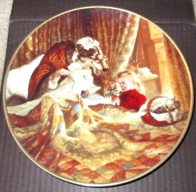 New In Box Knowles Little Red Riding Hood Classic Fairy Tales Collectors Plate
