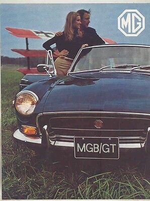 1971 MG MGB GT Brochure ww1319