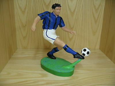 Soccer Statue-Blue/Black
