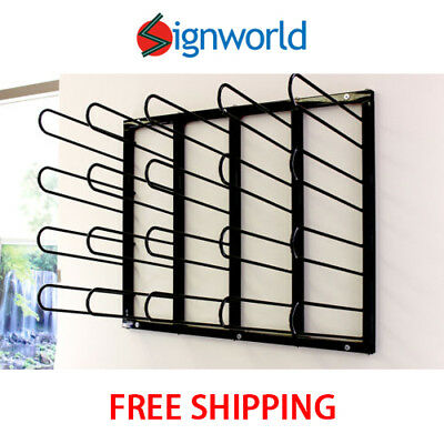 Vinyl Roll Rack Wall Mount DIGITAL MEDIA, PRINTING, PRE-MASK STORAGE