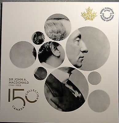 SET OF RCM ALBUM/CASE + The New 2015 Canada Sir John A. Macdonald 2$ Toonie coin