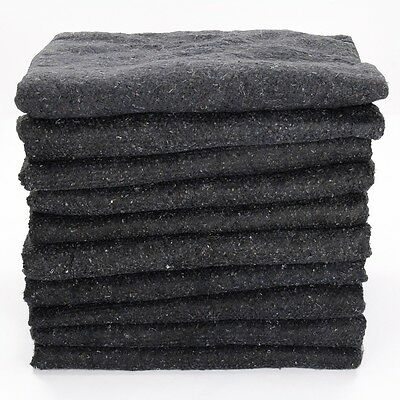 10 x Furniture Moving Van Removal Packing Transit Fabric Blankets -200cm x 150cm