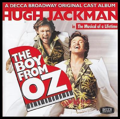 The Boy From Oz - Hugh Jackman & Broadway Cast Soundtrack Cd ~ Peter Allen *new*