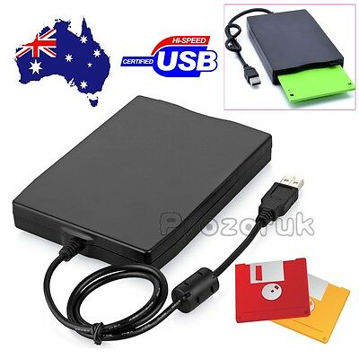 "3.5"" External portable USB Floppy Disk Drive For Laptop PC Win Mac H FDD 1.44MB"