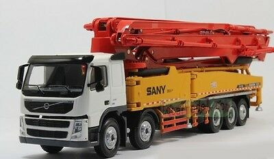 Special price! 1/50 SANY VOLVO 62m truck mounted Concrete pump SY5502THB Diecast