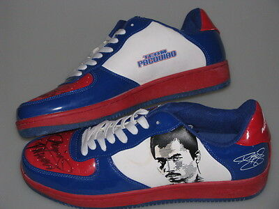 MANNY PACQUIAO Hand Signed Pair of Shoes